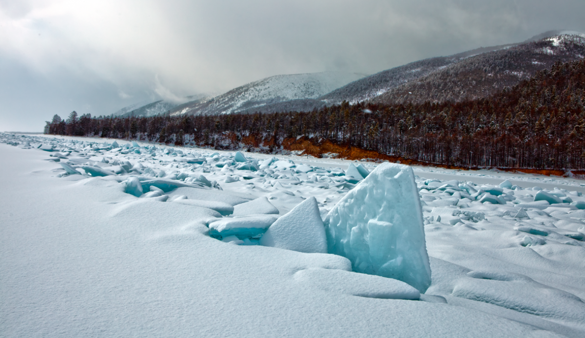 Открывая зимний Байкал
